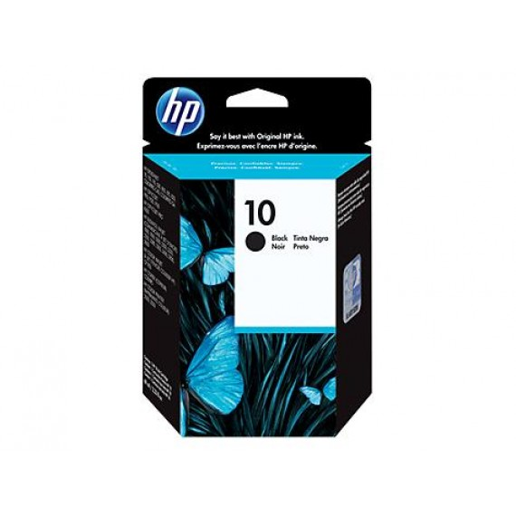 Cartucho HP 10 - Tinta Black (Preto) 69 ml - C4844A