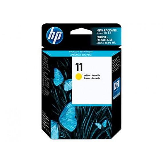Cartucho HP 11 - Tinta Amarelo 28 ml - C4838A