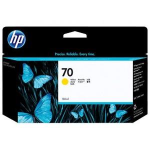 Cartucho Para Plotter HP 70 - Amarelo 130 ml - C9454A