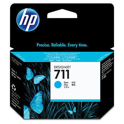 Cartucho HP 711 - Tinta Ciano 29 ml - CZ130A