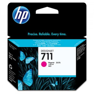 Cartucho HP 711 - Tinta Magenta 29 ml - CZ131A