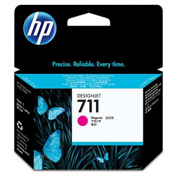 Cartucho HP 711 - Tinta Magenta 29 ml - CZ131A