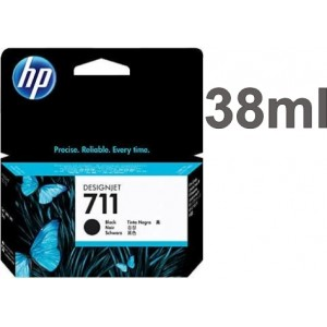 Cartucho HP 711 - Tinta Preto 38 ml - CZ129A