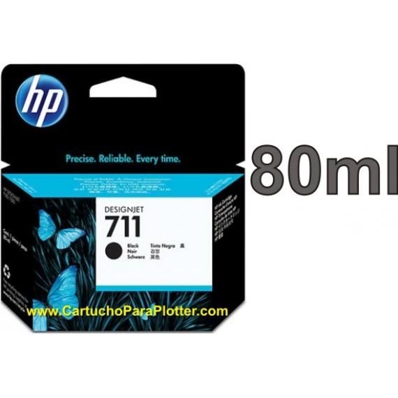 Cartucho HP 711 - Tinta Preto 80 ml - CZ133AB