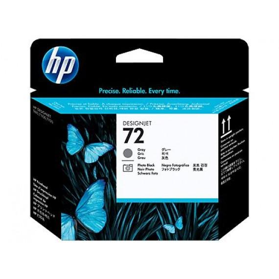 Cabeçote de Impressão HP 72 - Preto Fotográfico e Cinza - C9380A