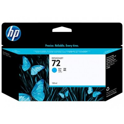 Cartucho HP 72 - Tinta Ciano (Cyan) 130 ml - C9371A