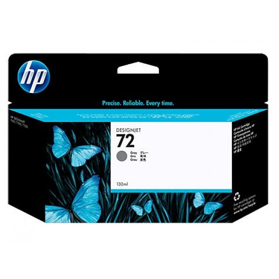 Cartucho HP 72 - Tinta Cinza 130 ml - C9374A