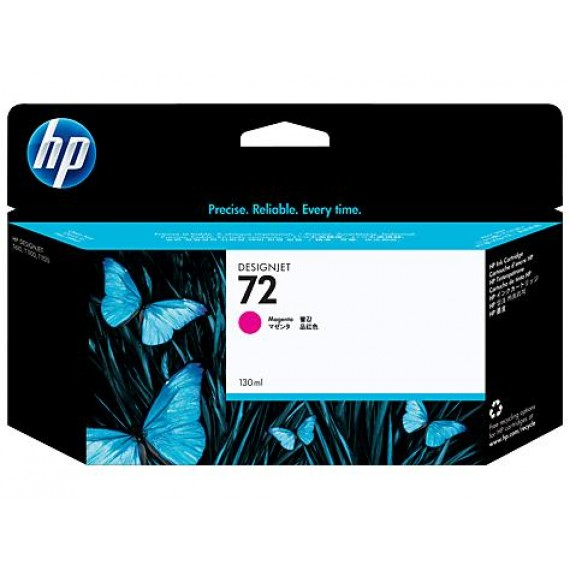 Cartucho HP 72 - Tinta Magenta 130 ml - C9372A