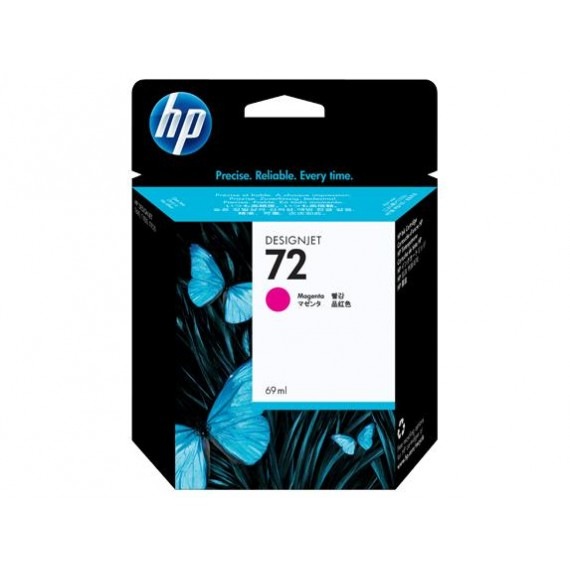 Cartucho HP 72 - Tinta Magenta 69 ml - C9399A