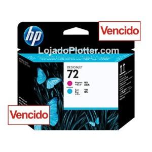 Cabeçote de Impressão HP 72 - Magenta e Ciano - C9383A - Vencido