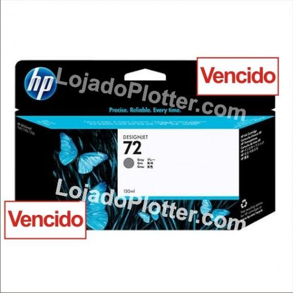 Cartucho HP 72 - Tinta Cinza 130 ml - C9374A - Vencido