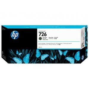 Cartucho HP 726 - Tinta Preto 300 ml - CH575A