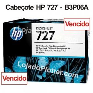 Cabeçote de Impressão HP 727 - B3P06A Vencido