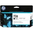 Cartucho de Tinta HP 728 - Preto Fosco 130 ml -3WX25A para Plotter HP T730 e T830
