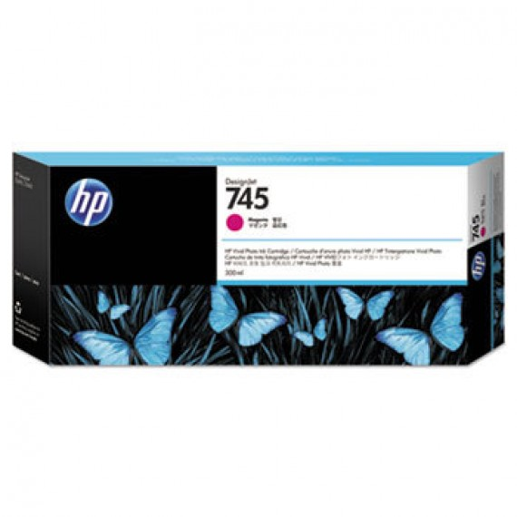 F9K01A Cartucho de tinta magenta HP 745 DesignJet 300 ml
