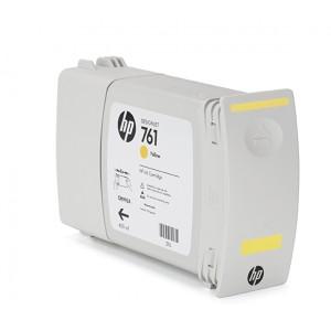 Cartucho HP 761 Amarelo 400 ml - CM992A para Plotter HP T7100 e T7200