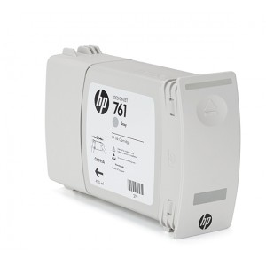Cartucho HP 761 Cinza 400 ml - CM995A para Plotter HP T7100 e T7200