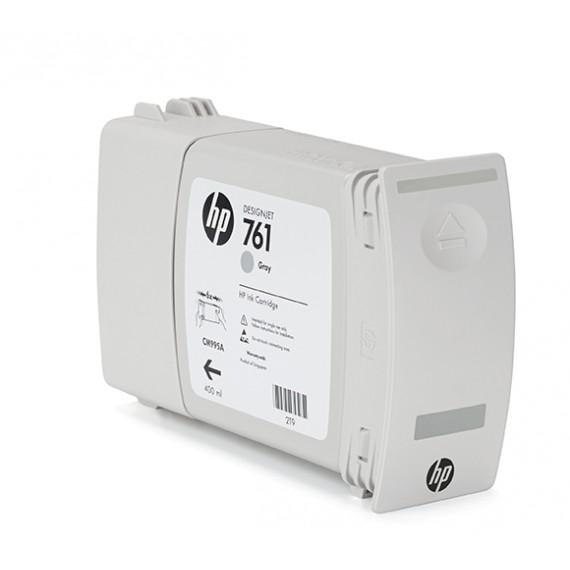 Cartucho HP 761 Cinza 400 ml - CM995A para Plotter HP T7100 e T7200