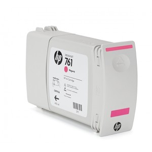 Cartucho HP 761 Magenta 400 ml - CM993A para Plotter HP T7100 e T7200