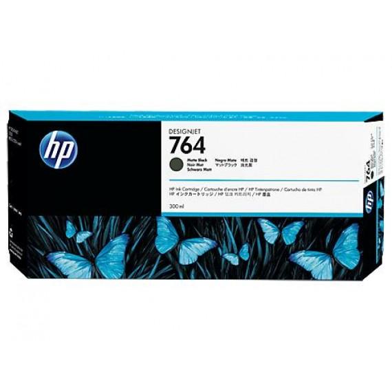 Cartucho de Tinta HP 764 Preto Fosco 300 ml C1Q16A