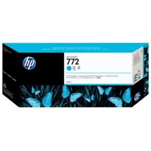 Cartucho HP 772 - Tinta Ciano 300ml - CN636A para Plotter Z5200 e Z5400
