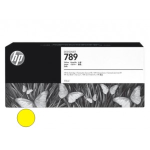 Cartucho HP 789 - Tinta Latex Amarelo 775ml - CH618A - para Plotter L25500