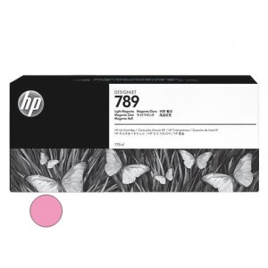 Cartucho HP 789 - Tinta Latex Magenta Claro 775ml - CH620A - para Plotter L25500