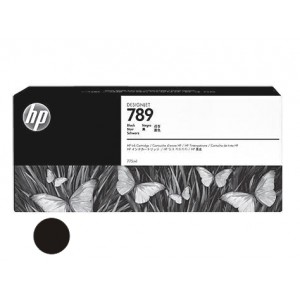 Cartucho HP 789 - Tinta Latex Preto 775ml - CH615A - para Plotter L25500
