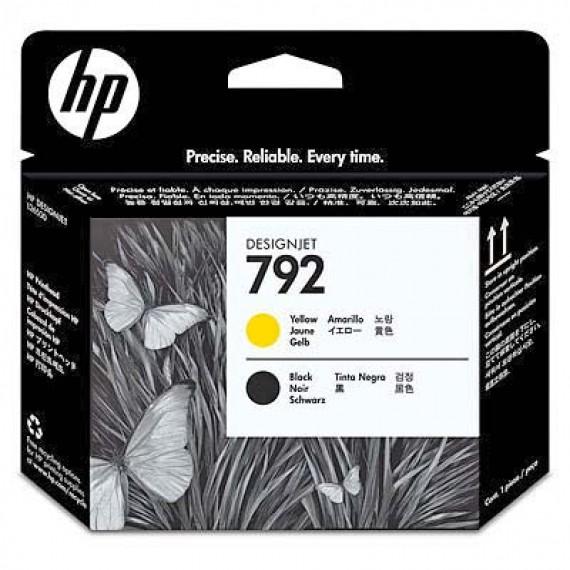 Cabecote Latex HP 792 Amarelo e Preto CN702A para Plotter L26500,L28500,L260,L280