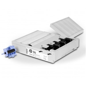 Kit de limpeza de cabecotes HP 792 - CR278A - Plotter L26500,L28500,L260,L280