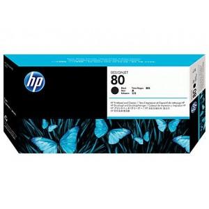 Cabeçote de Impressão Com Limpador HP 80 Preto (Black) - C4820A