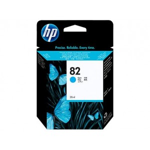 Cartucho HP 82 - Tinta Ciano 69 ml - C4911A