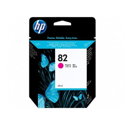 Cartucho HP 82 - Tinta Magenta 69 ml - C4912A