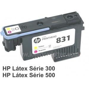 Cabecote Impressao Amarelo e Magenta HP 831A  - CZ678A  Plotter HP Latex