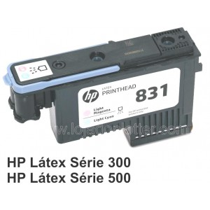 Cabecote Impressao Magenta Claro e Ciano Claro HP 831A  - CZ679A  Plotter HP Latex
