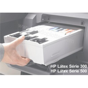 Cartucho de manutencao HP 831 Latex - CZ681A para Plotter HP Latex serie 300 e 500