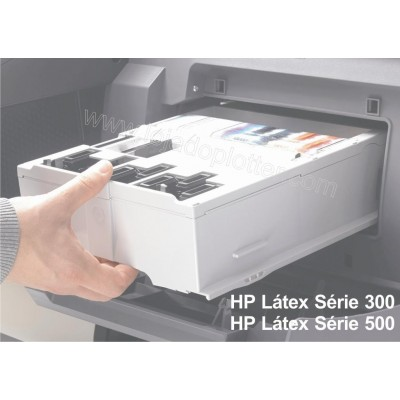 Cartucho de manutencao HP 831 Latex - CZ681A para Plotter HP Latex serie 300 e 500