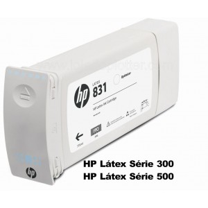Cartucho Otimizador HP 831A para Plotter HP Latex  de 775ml Plotter HP - CZ706A