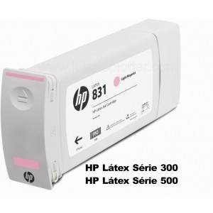 Cartucho Plotter HP Latex Magenta Claro HP 831A de 775ml Plotter HP - CZ687A