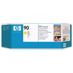 Cabeçote de Impressão Amarelo com Limpador HP 90 - C5057A