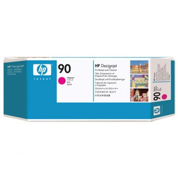 Cabeçote de Impressão Magenta com Limpador HP 90 - C5056A