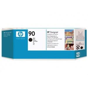 Cabeçote de Impressão Preto com Limpador HP 90 - C5054A