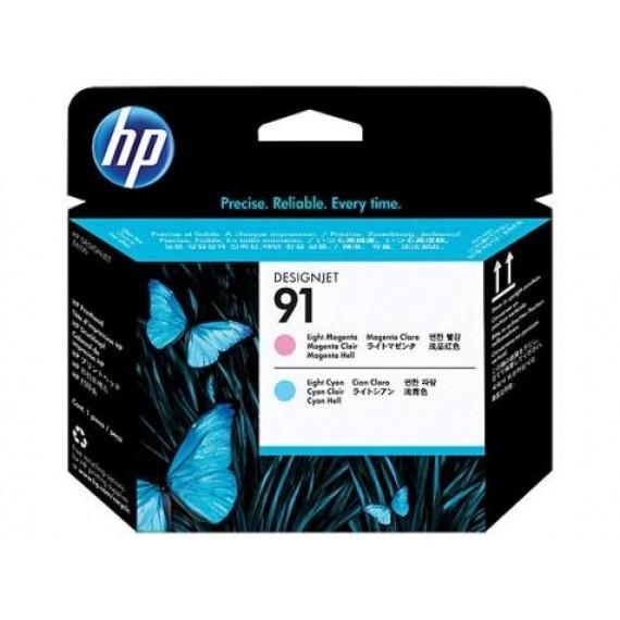 Cabeçote de Impressão HP 91 - Magenta Claro e Ciano Claro - C9462A