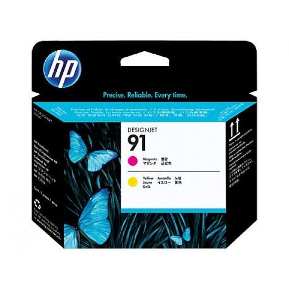 Cabeçote de Impressão HP 91 - Magenta e Amarelo - C9461A