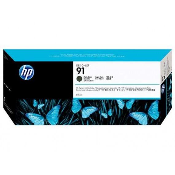 Cartucho HP 91 - Tinta Preto Fosco MK 775 ml - C9464A