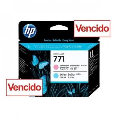 Cabecote HP 771 Magenta Claro e Ciano Claro - CE019A para Plotter Z6200, Z6600, Z6800 - VENCIDO