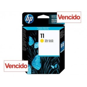 Cartucho HP 11 - Tinta Amarelo 28 ml - C4838A - Vencido