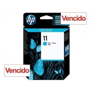 Cartucho HP 11 - Tinta Ciano (Turquesa) 28 ml - C4836A - Vencido